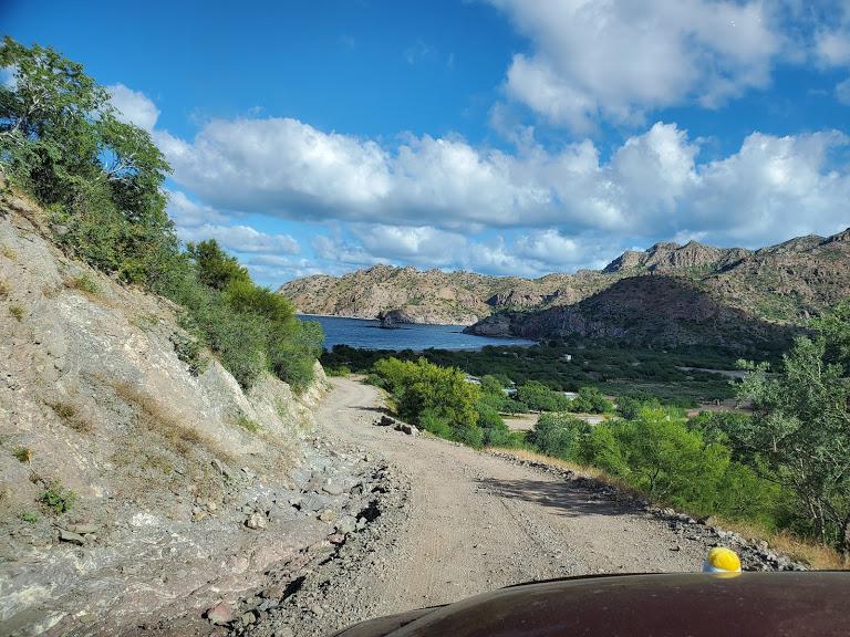 Approach to Bahia Agua Verde 2.jpg - 188kB