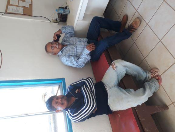 Abraham and Mayor Dr. Romero A.jpg - 165kB