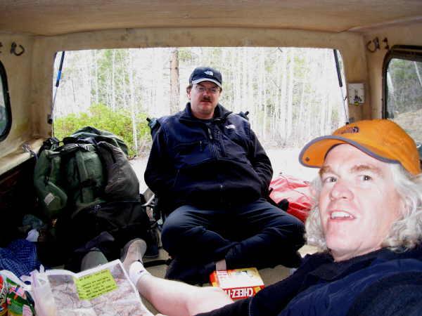 In the truck.JPG - 34kB